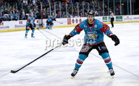 Press Eye - Belfast -  Northern Ireland - 10th March 2018 - Photo by William Cherry/Presseye. Belfast Giants Sebastien Sylvestre during Saturday evenings Elite Ice Hockey League game at the SSE Arena, Belfast.