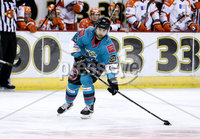 Press Eye - Belfast, Northern Ireland - 06th December 2019 - Photo by William Cherry/Presseye. Belfast Giants\' Ryan Lowney during Friday nights Elite Ice Hockey League game against Sheffield Steelers at the SSE Arena, Belfast.       Photo by William Cherry/Presseye.