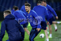 Press Eye - Belfast, Northern Ireland - 09th October 2019 - Photo by William Cherry/Presseye. Northern Ireland\'s Craig Cathcart during Wednesday nights training session at Stadium Feijenoord ahead of Thursday nights UEFA Euro 2020 Qualifier against Netherlands in Rotterdam. Photo by William Cherry/Presseye