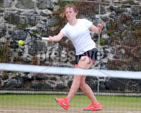 Press Eye Belfast - Northern Ireland 14th July 2017. Co. Antrim Tennis semi-finals at Ballycastle Tenni sClub.. Amy Roothwell. Picture by Jonathan Porter/PressEye.com.