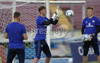 Press Eye - Belfast -  Northern Ireland - 28th May 2018 - Photo by William Cherry/Presseye. Northern Ireland goalkeeper Conor Hazard during Monday evenings training session at the Estadio Rommel Fernandez, Panama City.
