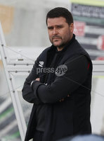 Danske Bank Premiership, The Oval, Belfast, Northern Ireland. 1/5/2021. Glentoran vs Linfield FC . Linfield  manager David Healy . Mandatory Credit INPHO/Presseye/Brian Little