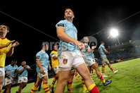 Pre-Season Friendly, Stade Aime Giral, Perpignan, France 9/8/2018. USA Perpignan vs Toulouse. Perpignan\'s Paddy Jackson after the match. Mandatory Credit ©INPHO/Billy Stickland