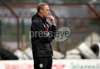 Press Eye - Belfast, Northern Ireland - 0th September 2020 - Photo by William Cherry/Presseye. Northern Ireland\'s U21s caretaker boss Andy Crosby during Tuesday nights U21 Euro Qualifier against Denmark at the Ballymena Showgrounds, Ballymena.      Photo by William Cherry/Presseye