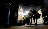 McKenna Cup, Kingspan Breffni Park, Co. Cavan 10/1/2018. Cavan vs Tyrone. Tyrone arrive for the game. Mandatory Credit ©INPHO/Tommy Dickson