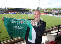 Press Eye Belfast - Northern Ireland 17th May 2017. North Belfast team Crusaders sign former Burnley goalkeeper Brian Jensen from Mansfield Town.. .  . Picture by Jonathan Porter/PressEye.com.