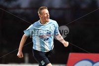 © Press Eye - Belfast - Northern Ireland 21st November 2015.. Danske Bank premiership.  Ballymena v Portadown.. Ballymena\'s Allan Jenkins. celebrates after scoring to make it  1-1. during Saturday\'s match at The Showgrounds. Photo by TONY HENDRON/Presseye.