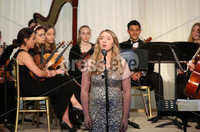 2 September 15 -   Picture by Darren Kidd / Press Eye.. Hillsborough Oyster Festival 2015:. Oyster Festival Musical Evening: The Ulster Youth Orchestra performing for the first time at Hillsborough International Oyster Festival along with the Portadown Male Voice Choir and soloist Zoe Jackson.