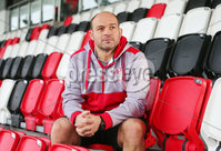 Press Eye Belfast - Northern Ireland 6th December 2017. Ulster Rugby press conference at the Kingspan Stadium in east Belfast ahead of their European Rugby Champions Cup match against Harlequins at Twickenham on Sunday. . Rory Best. Picture by Jonathan Porter/PressEye.com