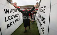 European Rugby Champions Cup Round 5, Kingspan Stadium, Belfast 13/1/2018. Ulster vs La Rochelle. Ulster\'s Rodney Ah You celebrates after the game . Mandatory Credit ©INPHO/Ryan Byrne