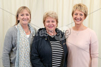 2 September 15 -   Picture by Darren Kidd / Press Eye.. Hillsborough Oyster Festival 2015:. Oyster Festival Musical Evening: The Ulster Youth Orchestra performing for the first time at Hillsborough International Oyster Festival along with the Portadown Male Voice Choir and soloist Zoe Jackson.. Pictured are Hilary Emerson, Ruth Jardine and Paddy Herron