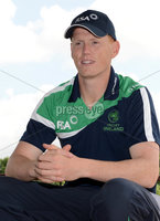 Mandatory Credit: Rowland White/Presseye. Cricket Ireland Press Conference to announce Squad for Austalian game at Stormont. Venue: Stormont. Date: 11th June 2012. Caption:  Kevin O\'Brien, Ireland Vice-Captain