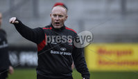 ©Russell Pritchard 27th November 2014 . Ulster Captains Run at Kingspan Stadium, Ravenhill, Belfast before their Guinness Pro12 Game against Munster at Thomond Park Stadium, Limerick.. Ulster Coach, Neal Doak. ©Russell Pritchard / Presseye.