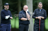 1 September 15 -   Picture by Darren Kidd / Press Eye.. Hillsborough Oyster Festival 2015:. The Oyster Masters at Lisburn Golf Club:  Simon Mann, Paul Dickson and Mark Mahaffey