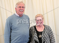 2 September 15 -   Picture by Darren Kidd / Press Eye.. Hillsborough Oyster Festival 2015:. Oyster Festival Musical Evening: The Ulster Youth Orchestra performing for the first time at Hillsborough International Oyster Festival along with the Portadown Male Voice Choir and soloist Zoe Jackson.. Pictured are David and Eva Gorman