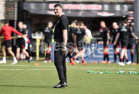 11th July 2019. Europa league First round qualifying match between Crusaders and B36 Torshavn at Seaview Belfast.. Crusaders new coach Paul Leeman . Mandatory Credit / Stephen Hamilton/Inpho