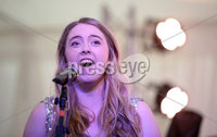 2 September 15 -   Picture by Darren Kidd / Press Eye.. Hillsborough Oyster Festival 2015:  sSoloist Zoe Jackson.. Oyster Festival Musical Evening: The Ulster Youth Orchestra performing for the first time at Hillsborough International Oyster Festival along with the Portadown Male Voice Choir and soloist Zoe Jackson.