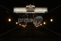 Press Eye - Belfast - Northern Ireland - 12th February 2018 - . Northern Ireland Talks at Stormont House, Belfast . General view of Parliament Buildings . Photo by Kelvin Boyes / Press Eye..