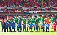 Press Eye - Belfast -  Northern Ireland - 03rd June 2018 - Photo by William Cherry/Presseye. Northern Ireland\'s during Sunday mornings International Friendly at the Nuevo Estadio Nacional de Costa Rica in San Jose.   Photo by William Cherry/Presseye