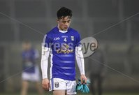 McKenna Cup, Kingspan Breffni Park, Co. Cavan 10/1/2018. Cavan vs Tyrone. Cavan's Darragh Kennedy dejected at the end of the game. Mandatory Credit ©INPHO/Tommy Dickson