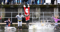 Presseye - Belfast - Northern Ireland - 2nd December 2017. Special Olympics Ulster hosts \'freezin\' for a reason\' polar plunge at Belfast Marina.. All money raised through the event will support local athletes with intellectual disabilities as Special Olympics Ulster builds toward the 2018 Special Olympics Ireland Games.. Mandatory Credit ©Matt Mackey / Presseye.com