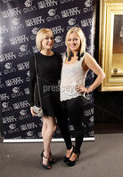 Press Eye - Belfast - Northern Ireland - Saturday 28th April 2012 -  Picture by Kelvin Boyes / Press Eye.. Secret Society at Ollies, Merchant Hotel. Holly Sweeney and Gill Stewart