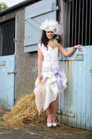 Winner of the Best Dressed Lady at Balmoral Show 2012 Rachaelle Liggett