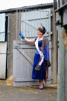 Runner up for the Best Dressed Lady at Balmoral Show 2012 Angela O\'Rourke