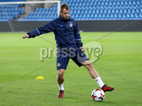 Press Eye - Belfast -  Northern Ireland - 07th October 2017 - Photo by William Cherry/Presseye. Northern Ireland\'s Niall McGinn during Saturdays nights training session at the Ullevaal Stadion, Oslo ahead of Sundays World Cup Qualifier against Norway.   Photo by William Cherry/Presseye