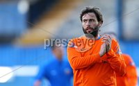 20th September 2014 ©William Cherry / Presseye. Glenavon manager Gary Hamilton after defeating Linfield 0-1 in Saturdays Danske Bank Premiership game at Windsor Park, Belfast.