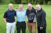 1 September 15 -   Picture by Darren Kidd / Press Eye.. Hillsborough Oyster Festival 2015:. The Oyster Masters at Lisburn Golf Club:  Gareth Brady, Michael Boyd, Barry Monaghan and Jonathan Furphy