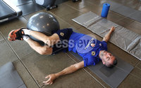 Press Eye - Belfast -  Northern Ireland - 31st May 2018 - Photo by William Cherry/Presseye. Northern Ireland\'s Aaron Hughes during Thursday mornings recovery session at the team Hotel in San Jose, Costa Rica ahead of the International Friendly on the last leg of their tour of Central America.. Photo by William Cherry/Presseye