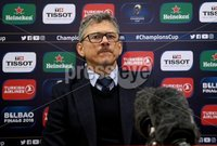 European Rugby Champions Cup Round 5, Kingspan Stadium, Belfast 13/1/2018. Ulster vs La Rochelle. Ulster Director of Rugby Les Kiss in the post match press conference . Mandatory Credit ©INPHO/Tommy Dickson