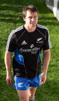 New Zealand All Blacks Captain\'s Run, Eden Park, Auckland, New Zealand 8/6/2012. Ben Smith. Mandatory Credit ©INPHO/Photosport/Andrew Cornaga