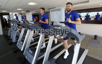 Press Eye - Belfast -  Northern Ireland - 31st May 2018 - Photo by William Cherry/Presseye. Northern Ireland\'s Paddy McNair and Stuart Dallas during Thursday mornings recovery session at the team Hotel in San Jose, Costa Rica ahead of the International Friendly on the last leg of their tour of Central America.. Photo by William Cherry/Presseye