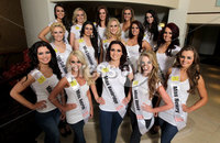 ©Press Eye Ltd Northern Ireland -15th April 2012 - Mandatory Credit - Picture by Matt Mackey/presseye.com. Miss NI constants 2012 - Europa Hotel, Belfast.