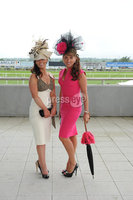 ©Press Eye Ltd Northern Ireland - 23rd  June  2012. Magners festival of racing at Down Royal. .Deborah Markley,Elaine Waterworth. Mandatory Credit - Picture by Stephen Hamilton /Presseye.com. . .