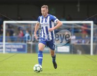 Danske Bank Premiership, Showgrounds, Coleraine 4/8/2018. Coleraine vs Warrenpoint. Coleraine\'s Darren McCauley. Mandatory Credit ©INPHO/Lorcan Doherty