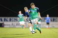 PressEye - Belfast - Northern Ireland - 10th October 2017. Euro 2019 Qualifier. Northern Ireland U21 vs Estonia U21. Pictured: Northern Ireland\'s Ben Kennedy.. Picture: PressEye / Philip Magowan
