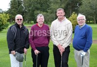 1 September 15 -   Picture by Darren Kidd / Press Eye.. Hillsborough Oyster Festival 2015:. The Oyster Masters at Lisburn Golf Club:  Joe Timelty, Paul Porter,  Andrew Kennedy and Alan Ewart