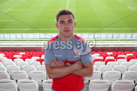 Press Eye Belfast - Northern Ireland 10th October 2017. Ulster Rugby press conference at the Kingspan Stadium in east Belfast ahead of their Champions Cup fixture versus Wasps on Friday night.  . Adam McBurney. . Picture by Jonathan Porter/Inpho .