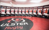 European Rugby Champions Cup Round 4, Kingspan Stadium, Belfast 15/12/2017. Ulster vs Harlequins. A view of the Ulster changing room before the game. Mandatory Credit ©INPHO/Tommy Dickson