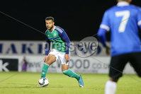 PressEye - Belfast - Northern Ireland - 10th October 2017. Euro 2019 Qualifier. Northern Ireland U21 vs Estonia U21. Pictured: Northern Ireland\'s Ryan Johnson.. Picture: PressEye / Philip Magowan