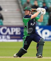 ©Press Eye Ltd Northern Ireland -18th July  2012. Mandatory Credit - Picture by Darren Kidd/Presseye.com . RSA T20 International Series.. Ireland v Bangladesh, 1st T20I, Stormont, Belfast.. Ireland\'s Paul Stirling.
