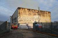 PressEye - Belfast - Northern Ireland - 01st December 2017. Pictured: General views of the scene of a fire in the Carnbane industrial estate in Newry.. Picture: PressEye / Philip Magowan