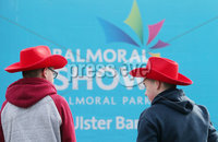 Press Eye - Belfast - Northern Ireland - 16th May 2019. Day two of the Balmoral Show in partnership with Ulster Bank at Balmoral Park outside Lisburn.  People arrive for the show. . Picture by Jonathan Porter/PressEye