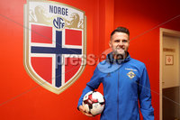 Press Eye - Belfast -  Northern Ireland - 07th October 2017 - Photo by William Cherry/Presseye. Northern Ireland\'s Oliver Norwood who will earn his 50th cap against Norway in Sundays World Cup Qualifier against Norway.   Photo by William Cherry/Presseye