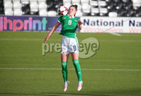Press Eye - Belfast - Northern Ireland - 8th October 2019. European Women\'s U19 Championship 2020 Qualifying Round -  Northern Ireland Vs Norway, Seaview. Northern Ireland\'s Jessica Rea.. Picture by Jonathan Porter/PressEye