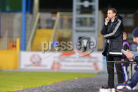 PressEye - Belfast - Northern Ireland - 10th October 2017. Euro 2019 Qualifier. Northern Ireland U21 vs Estonia U21. Pictured: Northern Ireland Under 21 manager, Ian Baraclough.. Picture: PressEye / Philip Magowan