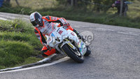 PressEye-Northern Ireland- 9th August 2018-Picture by Brian Little/ Double Red. Ulster Grand Prix . Conor Cummins Padgetts Motorcycles Honda 600cc during Lisburn &Castlereagh City Council 600 Supersport Race  for the Ulster Grand Prix races for the Ulster Grand Prix races around the Dundrod 7.4 mile circuit. . Picture by Brian Little/Double Red